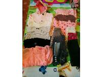 4-5-6-7 years girl clothes bundle