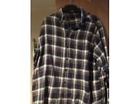 Men's xl James Pringle checked shirt