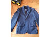 Boys navy blue age 6 next suit