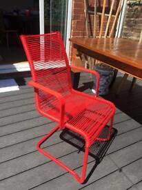 Ikea Vasman Chair (red)