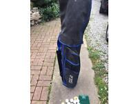 Prodrive golf clubs bag balls tees kids