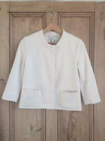 Women's Mango cream jacket small