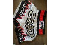 Lumpinee muay thai boxing shorts size M