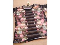 Miss selfidge see through tshirt new size 6