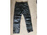 Sportex Apollo leather Motorcycle trousers size 36 R