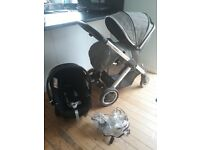 Oyster 2 pram and Cybex car seat