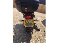 2015 Honda CBF 125 - genuine reason for sale