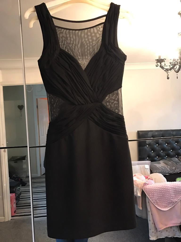 Black lipsy dress size 8in Blyth, NorthumberlandGumtree - Black lipsy dress size 8Mesh on parts of dressWorn once Like new condition Smoke free home