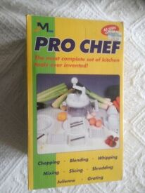 JML Pro Chef Multi Function Kitchen Tool Set - BNIB