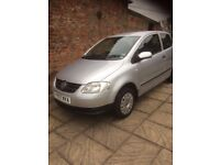 Volkswagen Fox 1.4 3 Door Hatchback , 2007, 1 Owner from new ,,, Not a VW Polo ,Lupo, Golf