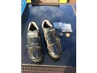Shimano SPD cycling shoes 10