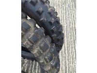 used motocross tires various sizes