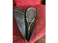 Great condition Dunlop AeroGel Elite Squash Racquet