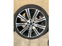 Range Rover alloy wheels