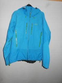Patagonia Triolet Jacket - Men SIZE LARGE Larimar Blue
