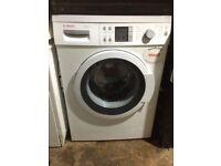 £112.34 Bosch vario perfect 8kg+1400 spin washing machine+3 months warranty for £112.24