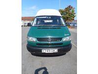 FINANCE ME!! NO VAT!! Volkswagen TRANSPORTER SWB camper bilbo's breakaway 2.5tdi only 63k from new!