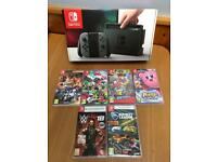 Nintendo Switch with 6 Games