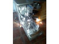 Indesit 3/4 width dishwasher