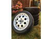 Lancia Delta Integrale 4 x 15'' Original Alloy Wheels Alloys tyres 195 50 15
