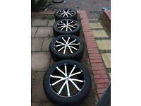 "Honda Civic accord tsw 17"" alloys 5x11.4 jap fitment no More messers!!"