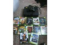 Microsoft (Original) Xbox + 12 Games