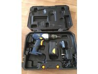 Guild Boxed circular saw and MacAllister cordless drill in case