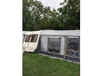 2006 Bailey pageant Bordeaux fixed bed large awning etc excellent condition £4500 no offers