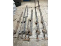 Joiners Sash Clamps large barn doors windows old school quality