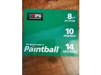PAINTBALL TICKETS- FANTASTIC DAY OUT