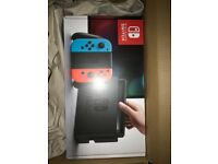 Brand New Nintendo Switch 32GB Console (with Neon Red/Neon Blue Joy-Controller)