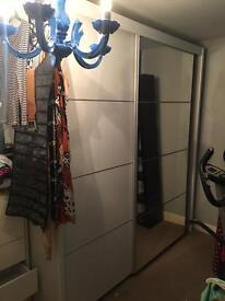 Huge sliding door wardrobe