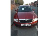 Skoda 1.9 TDI Manual Diesel car 2005 red excellent condition 125000 mileages 12 Months MOT