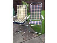CHAIRS x 2 plus LUXURY SEAT PADS