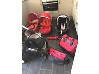 Icandy peach full travel system