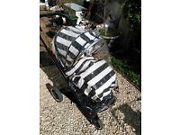 Oyster 2 Pram - Good Condition - Humbug Colour Pack + Extras