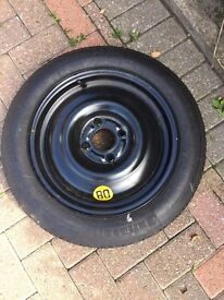 Ford Focus/Fusion/Fiesta - Spacesaver spare wheel and tyre (new)