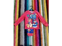 Age 4-5 Paw Patrol Pyjamas and Matching Slipper Socks New