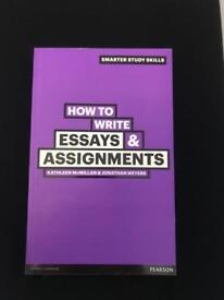 How to write essays and assignments book