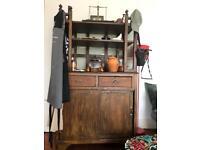 Vintage Moroccan wooden cabinet