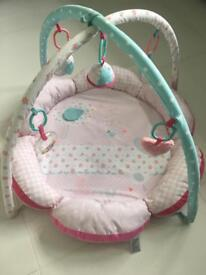 Baby girl play mat from mother care