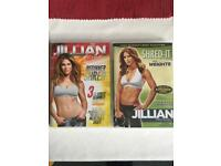 Jillian Michaels Beginner Shred & Shred-It with Weights DVDs