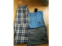 Mens Henleys Loungewear size small new