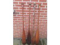 Canadian canoe paddles