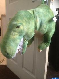 Motion activated Roaring dinosaur room guard