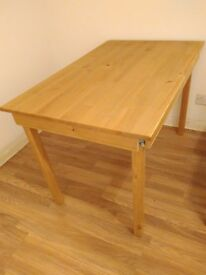 Pine dining table for sale