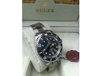 new boxed black face silver strap rolex daytona watch whatsapp to see all watches available
