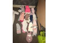 Large 0-3 months baby girl bundle