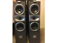 Jamo X550 speakers