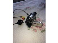 JVC Digital Video Camera: Including battery, mains power plug, phono cables and Firewire cable.